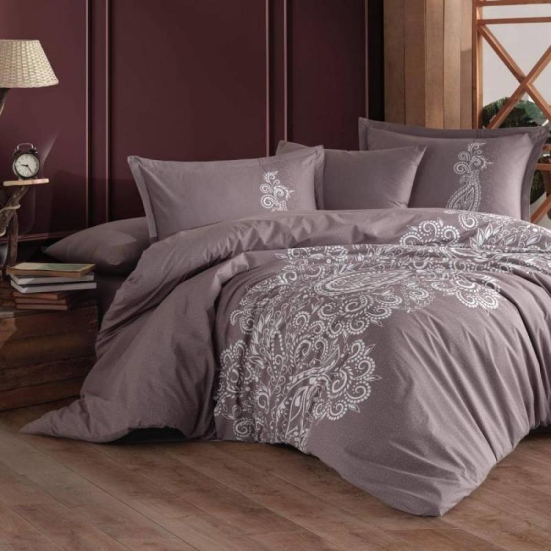Cotton Box Tek Kişilik Ranforce Summer Set Helya Pudra