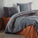 Clasy Çift Kişilik Pamuk Saten Uyku Seti Rosemary V2