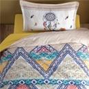 Clasy Çift Kişilik Pamuk Saten Uyku Seti Ringa V2