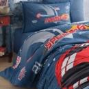 Cotton Box Mode Line Tek Kişilik Pamuklu Ranforce Uyku Seti Megan Bej